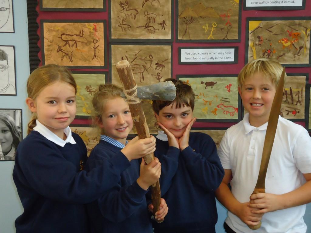 Stone Age Workshop Year 4 039 – Cumnor C of E Primary School